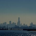 Hazy Melbourne by Samsticks