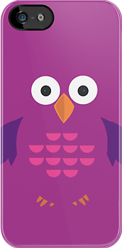 Purple & Purple Owl by Adamzworld