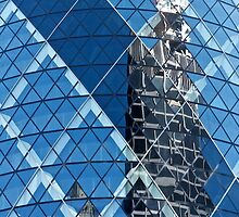Cheese Grater in Gherkin by Robert Dettman