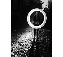 Light Circle Photographic Print