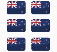 Flags of the World - New Zealand x6 by CongressTart