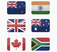 Flags of the World - Commonwealth Nations x6 by CongressTart