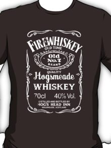 Hogsmeade's Old No.7 Brand Firewhiskey T-Shirt
