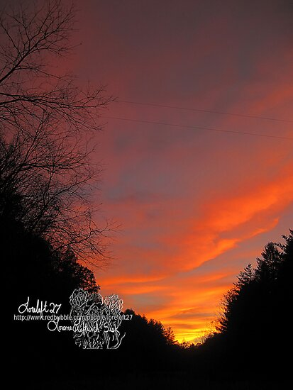 oct 28 2010 sunset   by LoreLeft27