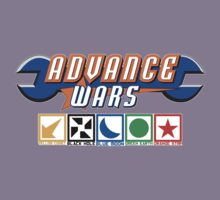 Advance Wars Logo with Factions by benenor90