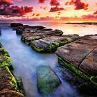 Soldiers Beach Sunrise # 2 by Arfan Habib