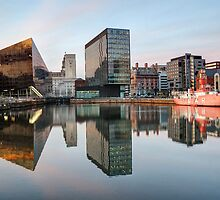 Reflections of Liverpool Docks by Jenna Goodwin