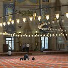 Inside Süleymaniye Mosque by Mark Prior