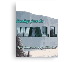The Wall GAME OF THRONES Canvas Print