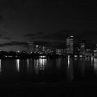 high rise leaking light by Brendon Earl Fallon