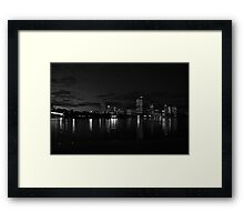 high rise leaking light Framed Print