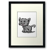 Kitty cat Framed Print
