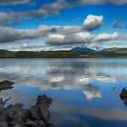 Reflections on Loch Awe by Islandsimages