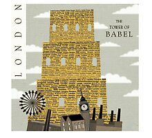 The Tower of Babel by EnaOwicz