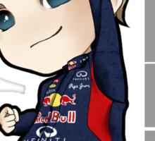 Mini Sebastian Vettel  Sticker