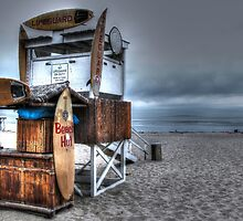 Malibu Lifeguard Station by Kaos  Photography