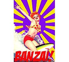 Banzai!! Photographic Print