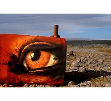 The Rusty Eye Photographic Print