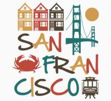 San Francisco by DetourShirts