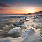 Birling gap sunset by willgudgeon