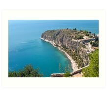Nafplio Peninsula Art Print