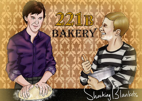 221B Bakery by shockingblanket
