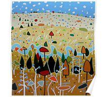 Whimsical Landscape 4. Poster