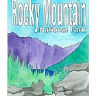 Rocky Mountain National Park by Daogreer Earth Works