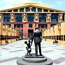 The Walt Disney Studios - The Michael D. Eisner Building by ShopGirl91706