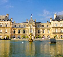 Jardin du Luxembourg, Paris by gianliguori