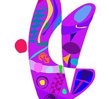 Purple Rabbit by masabo