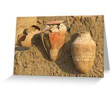 Outside Karnak Temple in Luxor Greeting Card
