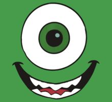 Mike Wazowski t-shirt by xrobertxdavisx