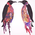 Penguins in Pink by samclaire