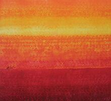 Desert Horizon original painting by CrowRisingMedia