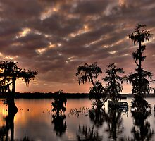 Lake Martin Sunset HDR by Paul Wolf