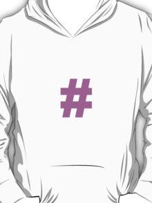 Hashtag Symbol T-Shirt