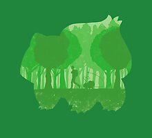 Green companion by Whitebison