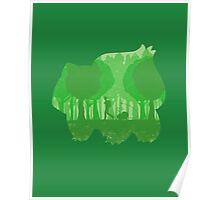 Green companion Poster
