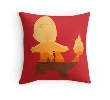 Red companion Throw Pillow