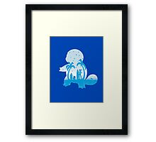 Blue companion Framed Print