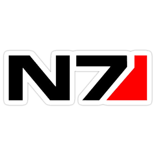 Mass Effects N7 by thatstickerguy