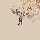 watercolor elephant by phantompunch