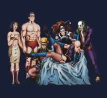 The Rocky Horror DC Comics Show by clayorrnot