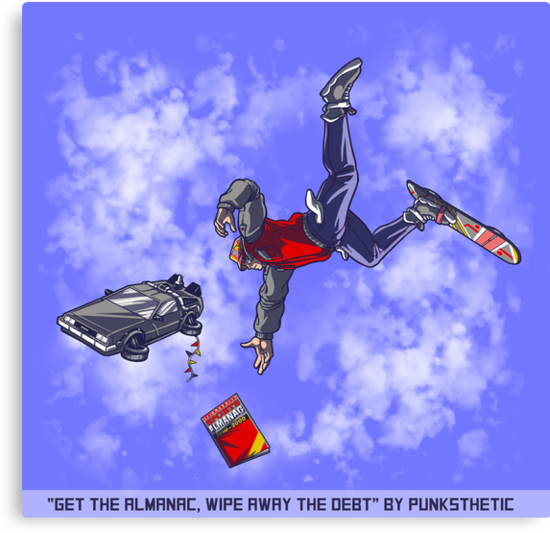 Get the Almanac, wipe away the debt (Daytime Alt) by Punksthetic