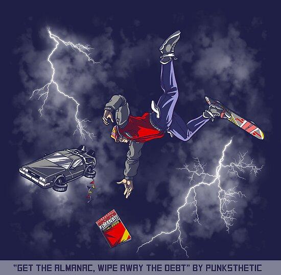 Get the Almanac, wipe away the debt by Punksthetic