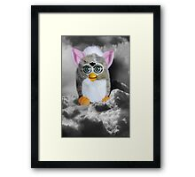 ❀◕‿◕❀FERBY IN CLOUDS COMING TO MAKE A HOME ON EARTH CARD/PICITURE❀◕‿◕❀ Framed Print