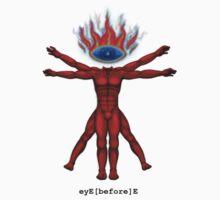 Vitruvian Eye by ThePoetPyronius