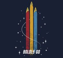 Boldly Go by Cristina K.