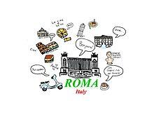 Roma, Italy Photographic Print
